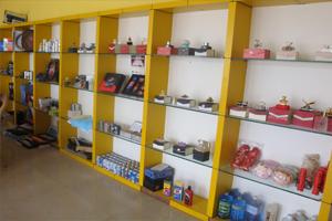 产品展览区