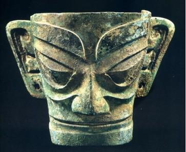 三星堆・青铜面具
