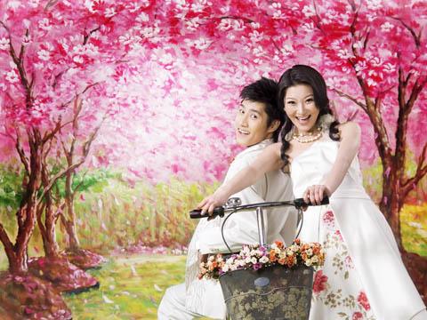 花季的浪漫之旅