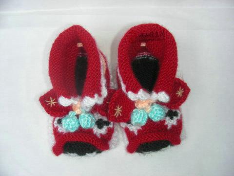 毛线手工鞋4
