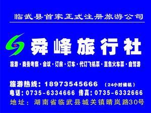 临武县舜峰旅行社有限公司