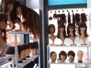 各式品牌假发