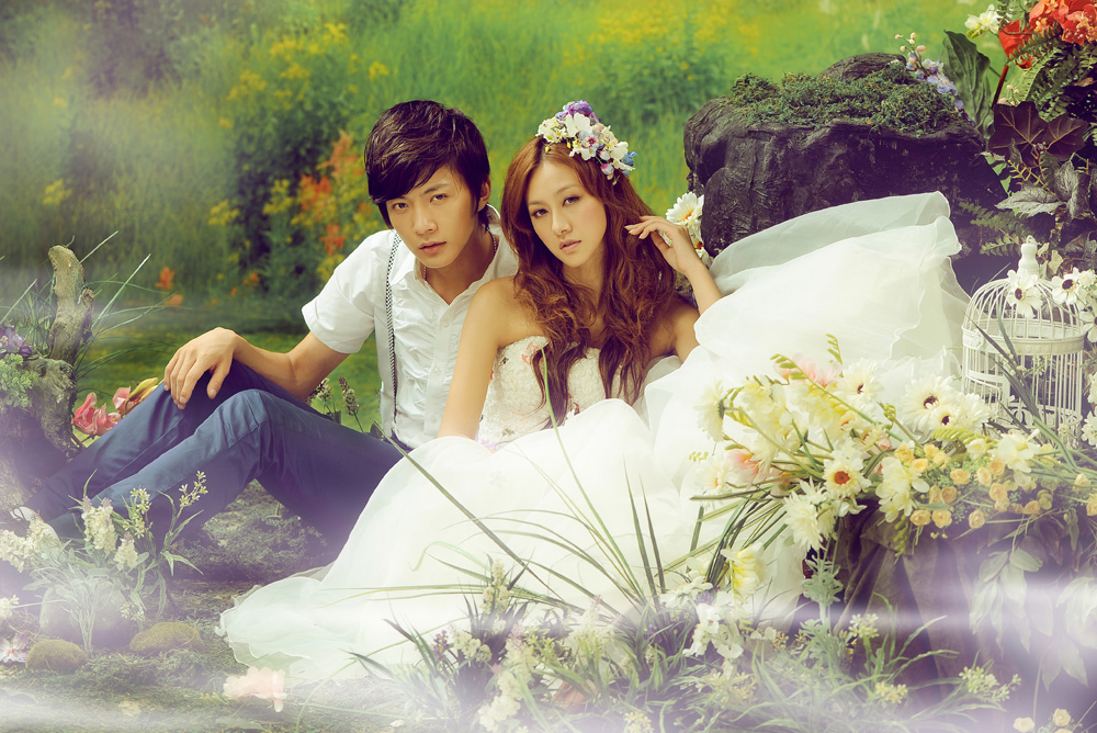 皇家新娘婚纱摄影――情定伊甸园