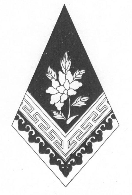 蒙古族花纹图片