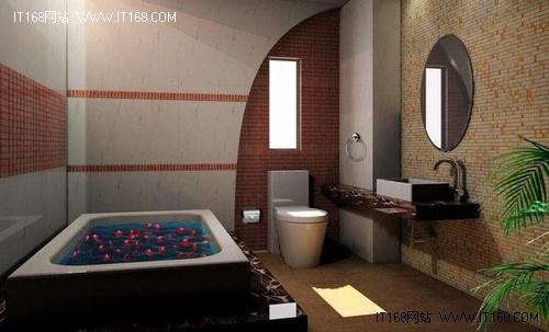卫生间也要创意 48款卫浴装修
