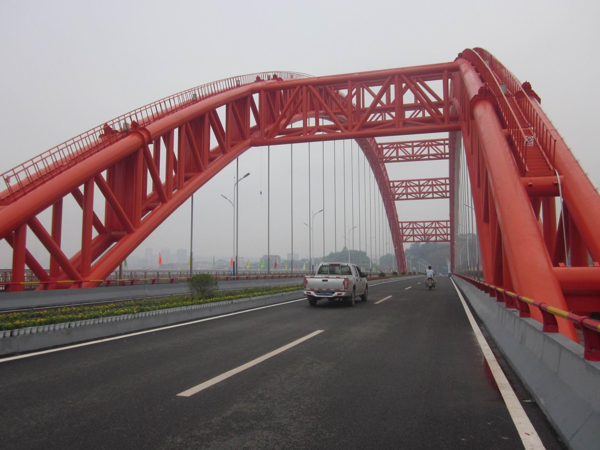 广安奎阁渠江大桥