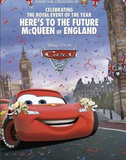 《赛车总动员2》预告海报