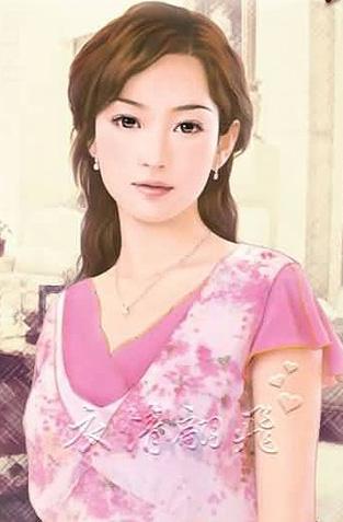 美女手绘图现代