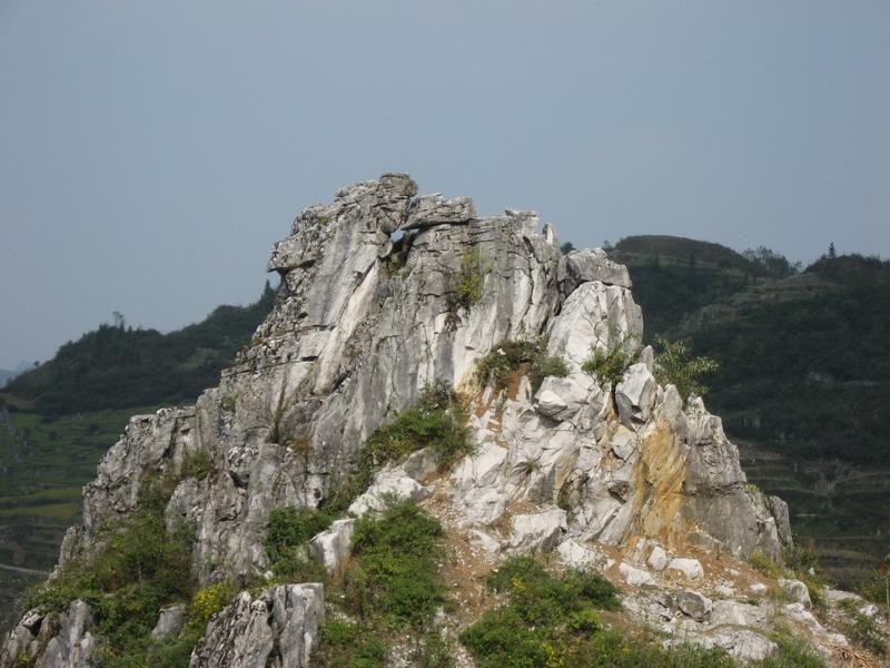 镇雄县林口乡熊贝村图片