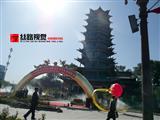 """金张掖首届""""菊花节""""摄影展在广场举行!"""