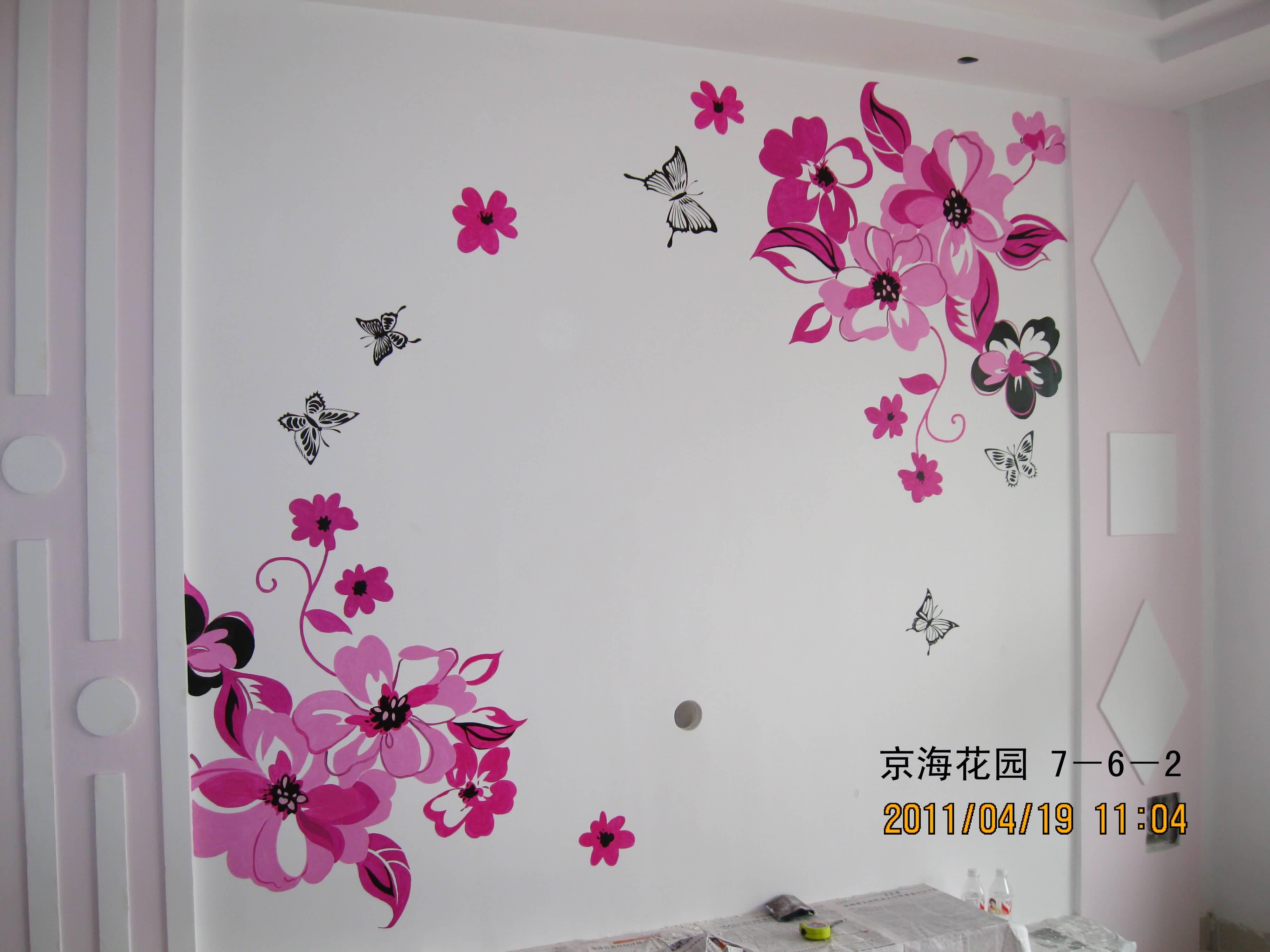 创意手绘墙||武汉手绘墙价格||手绘墙画图片大全
