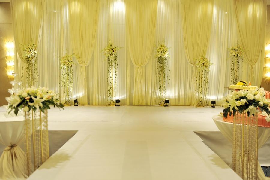 酒店婚礼背景素材