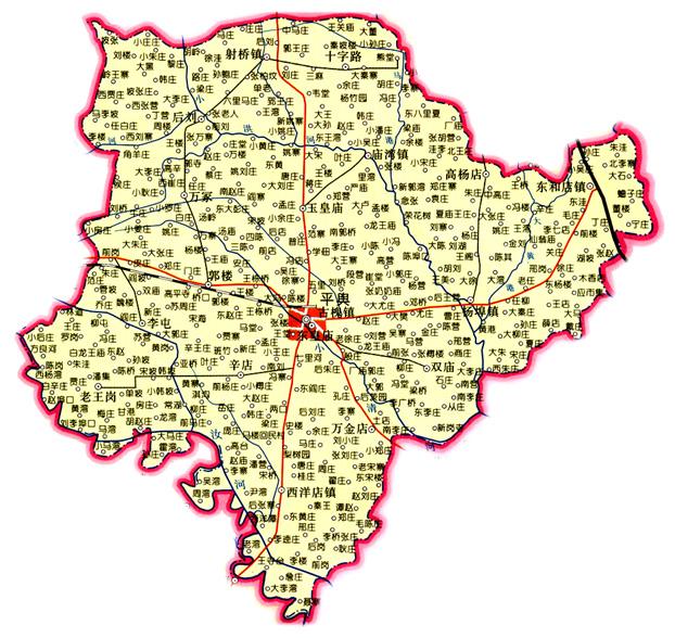 惠东县各镇地图