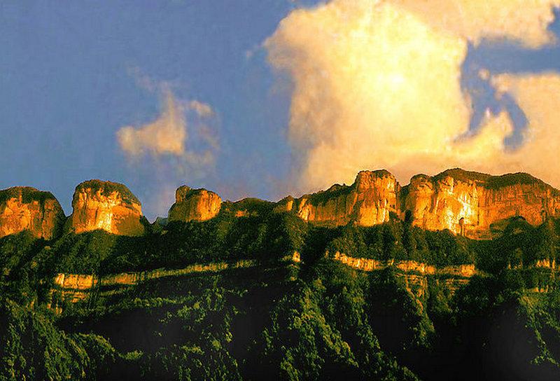 南川金佛山风景高清图