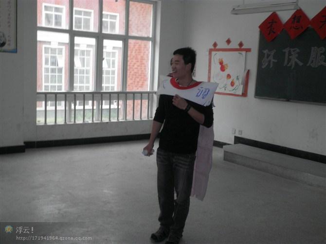 幼儿园男生环保走秀创意服装