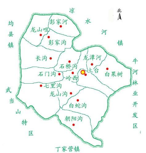 湖北丹江口地图