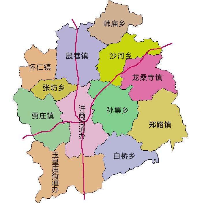 白桥西里社区地图
