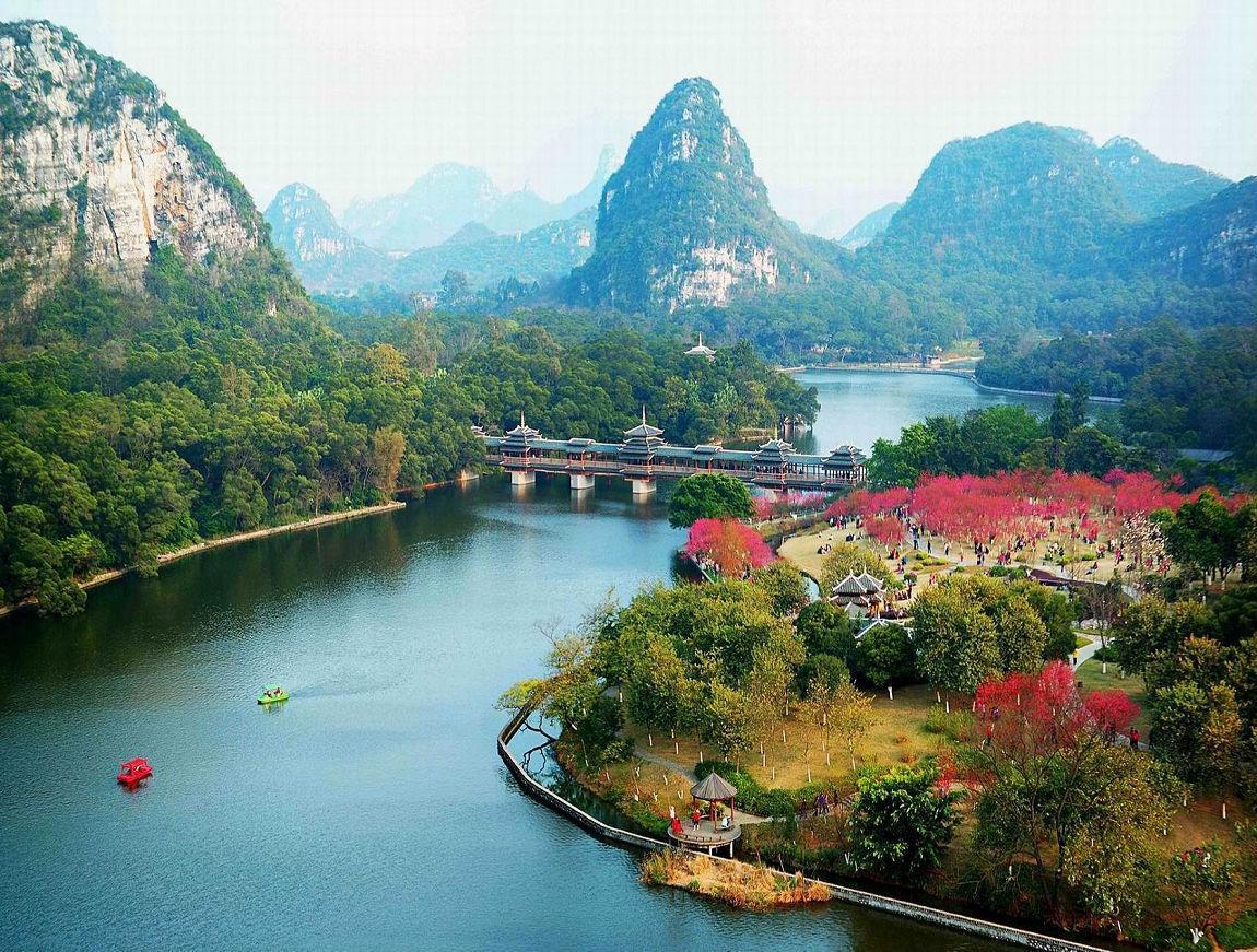 柳州大龙潭风景区