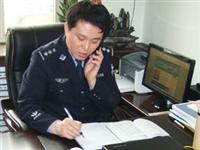 """我县公安局刑警大队长张志海入选全省""""警队青年先锋""""候选人,请为他投一票"""