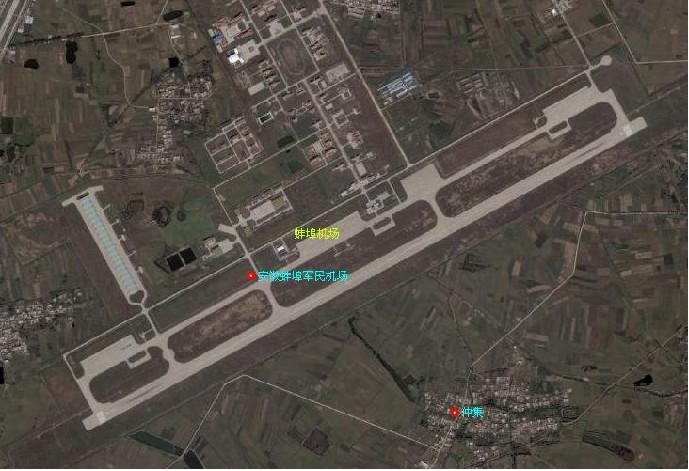 机场导航图手绘