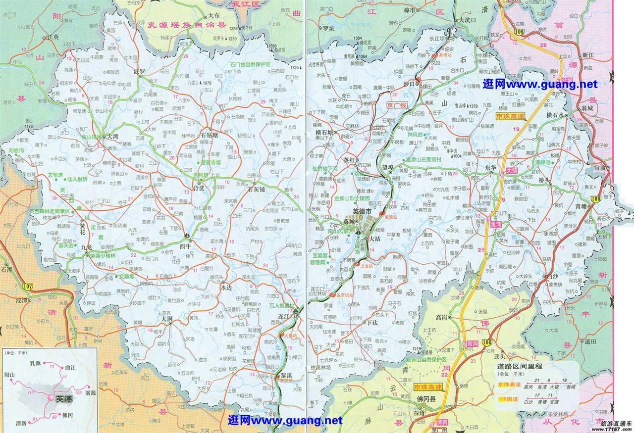 汕湛高速公路地图