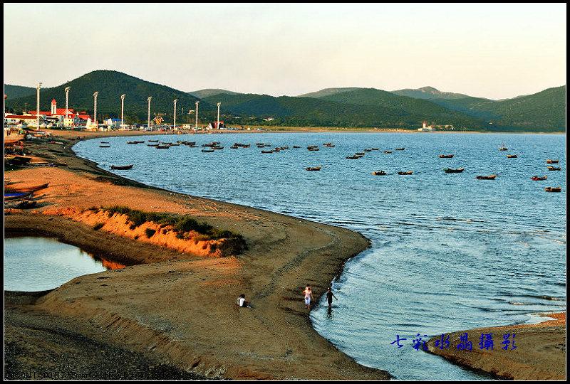 葫芦岛龙湾海滨风景区,豪情满怀,犹如身处人间仙境