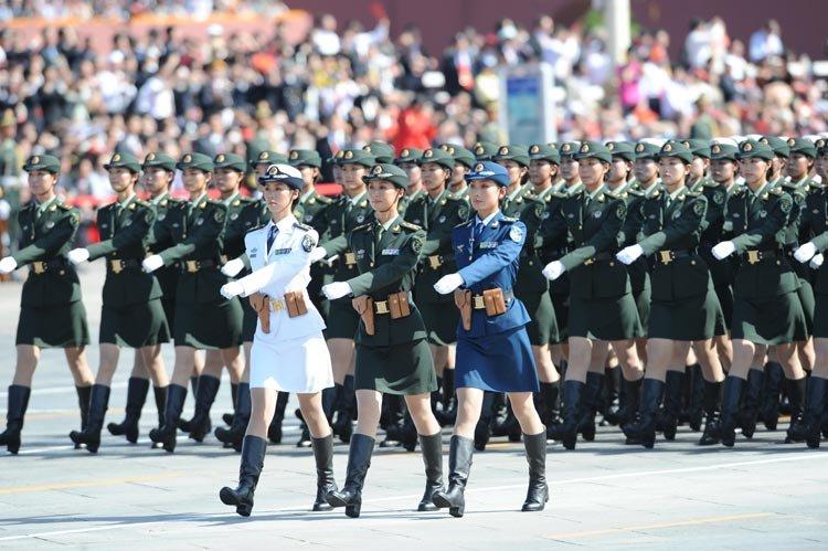 2009国庆阅兵高清图片(过瘾)