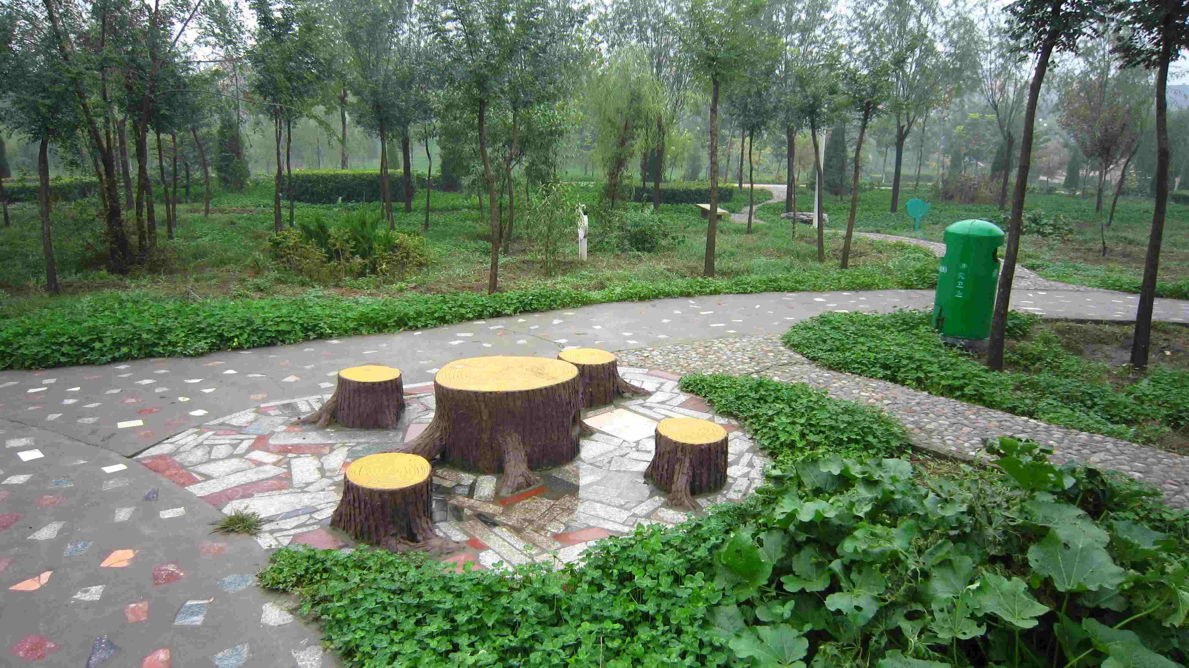 稷山民乐园风景