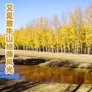 """又见万宝镇""""敖牛山""""绝美风光(秋景),慎独作品"""