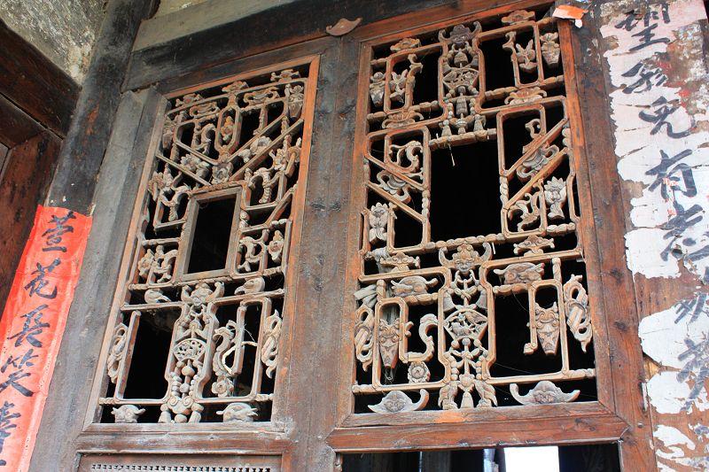 [原创]老木房花窗很难见到