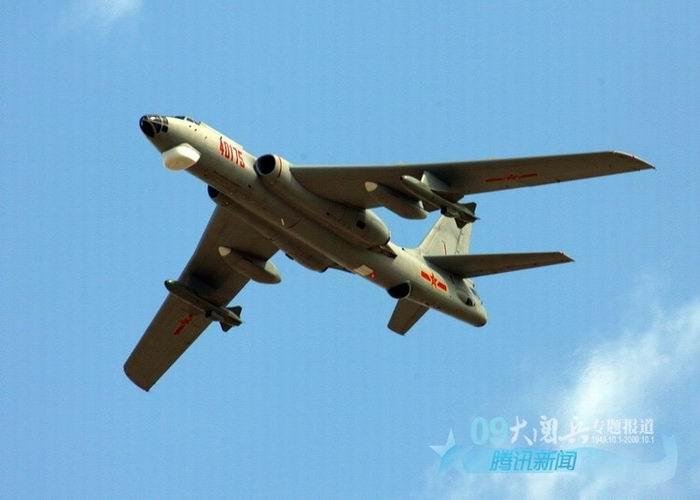 国庆60年大阅兵之空中梯队图片