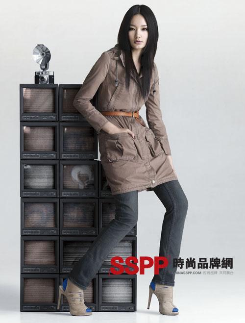 Lee品牌牛仔裤09秋冬最新广告大片