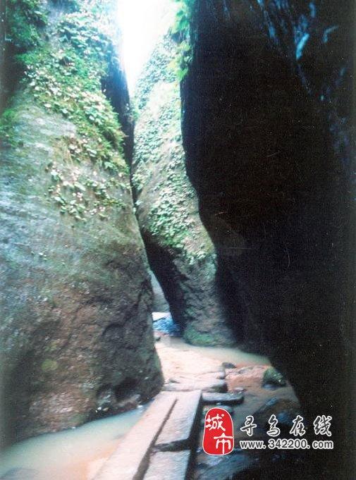 寻乌县青龙岩风景区