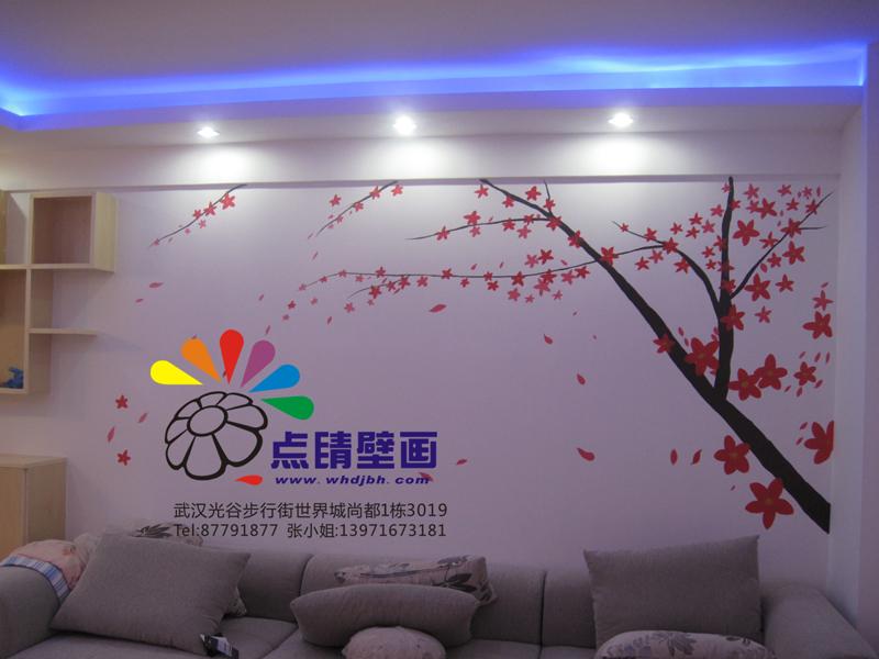 [原创]创意手绘 手绘墙 家居装饰新风尚