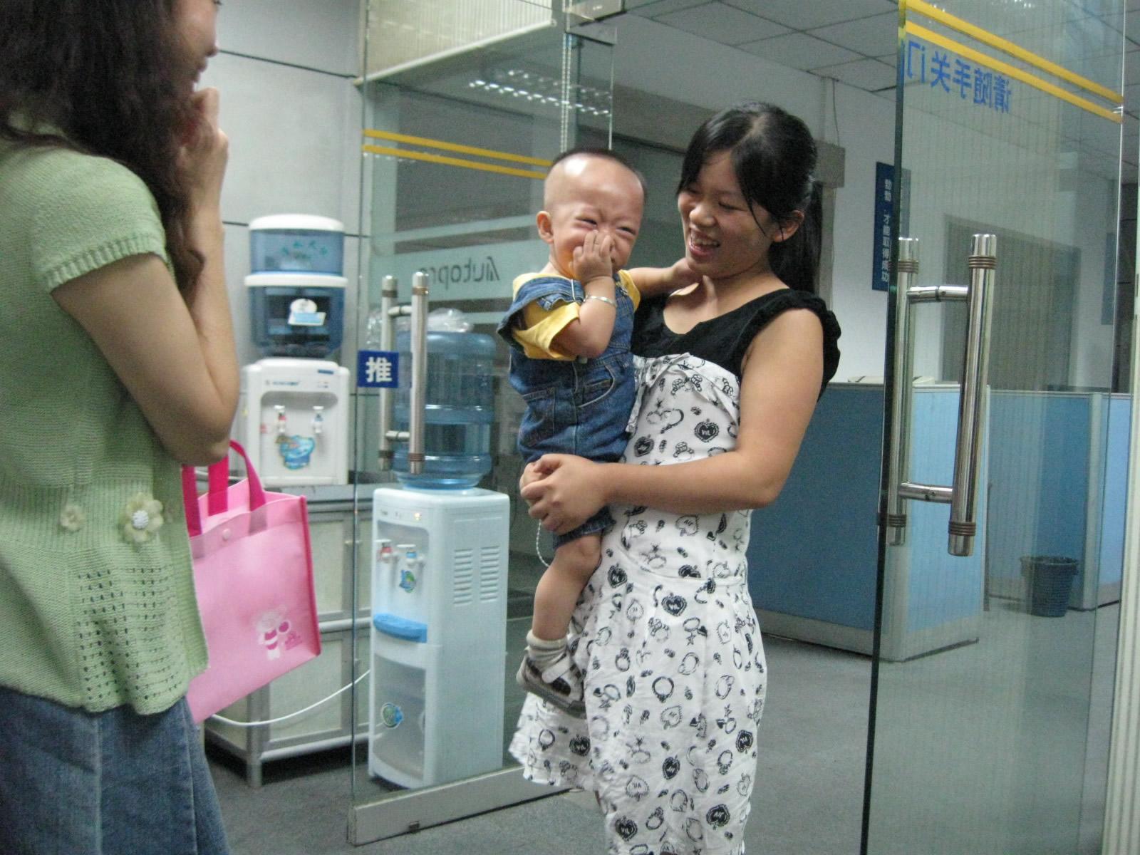 宝宝与美女同事们之二