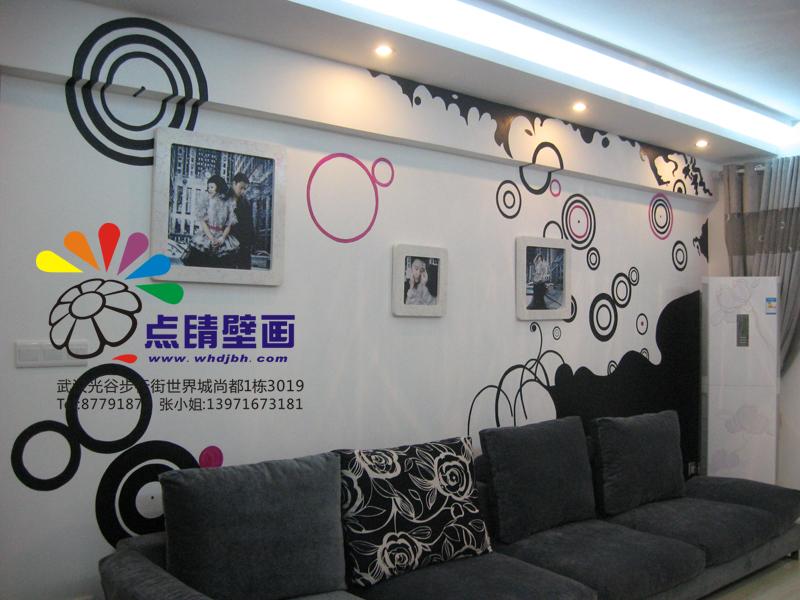 个性装饰 手绘壁画为您打造时尚居家环境