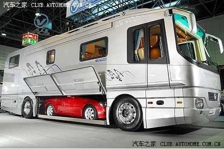这个车子有点厂有点宽!别样豪车!!!超豪华房车(图片)