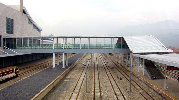 恩施火车站最新图片