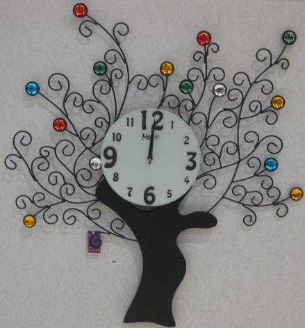 儿童画我设计的时钟