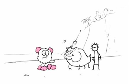 俄罗斯创意动画:纯手工恶搞图片