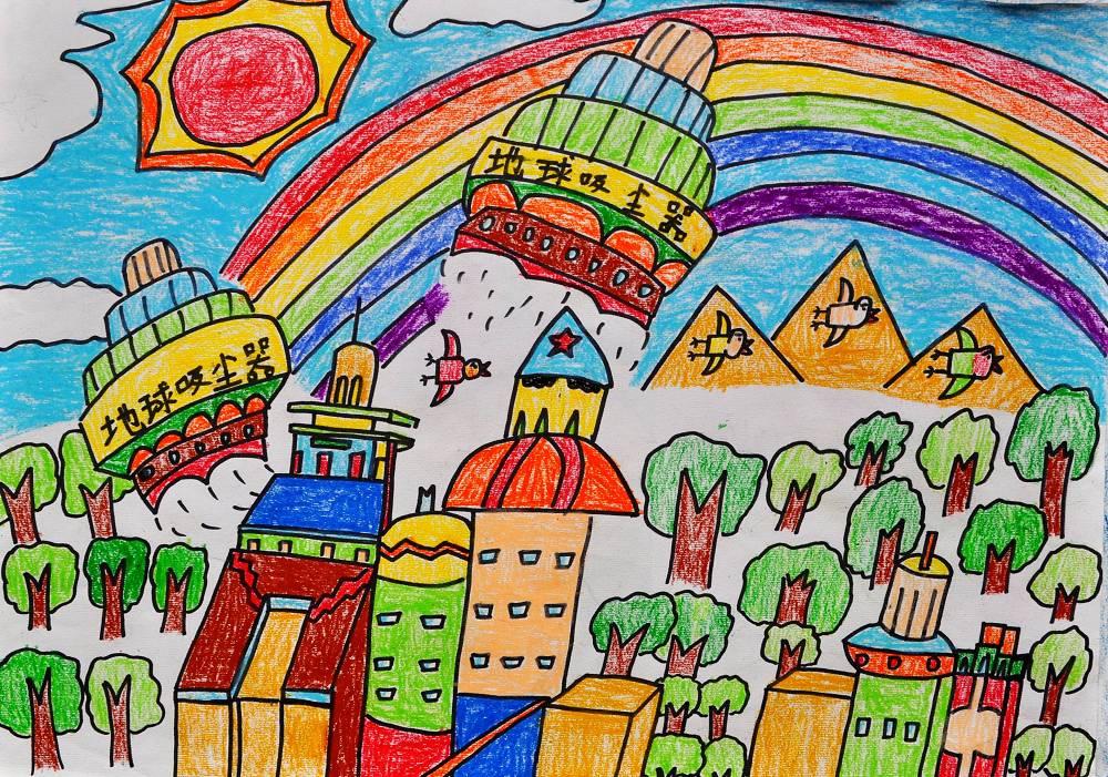 儿童环保手工作品图3_小学生环保手工作品