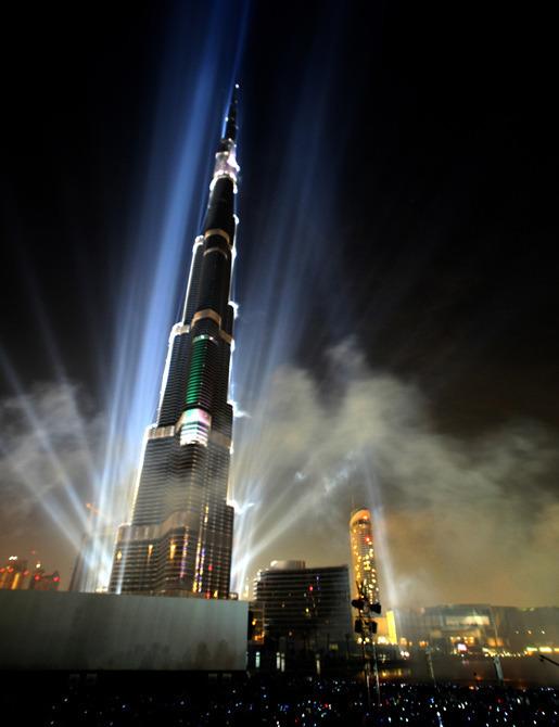 世界第一高楼迪拜塔
