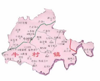 [原创]盂县14个乡镇地图