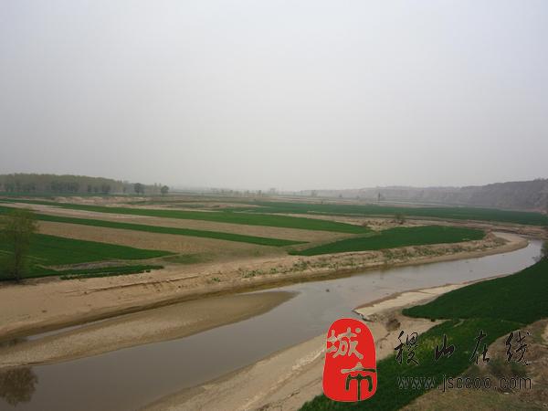 稷山汾河周边美景