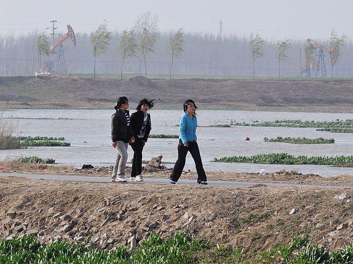 2010,春临仙鹤湖
