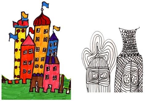 美术第一期集体备课小学篇(实小)《童话城堡》