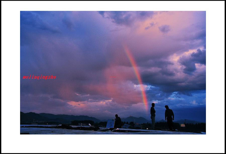风雨后的彩虹
