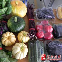 首届蔬菜瓜果节产品展示