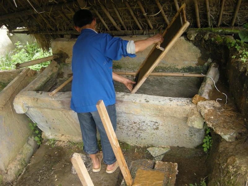 [原创]全县唯一的传统造纸工艺