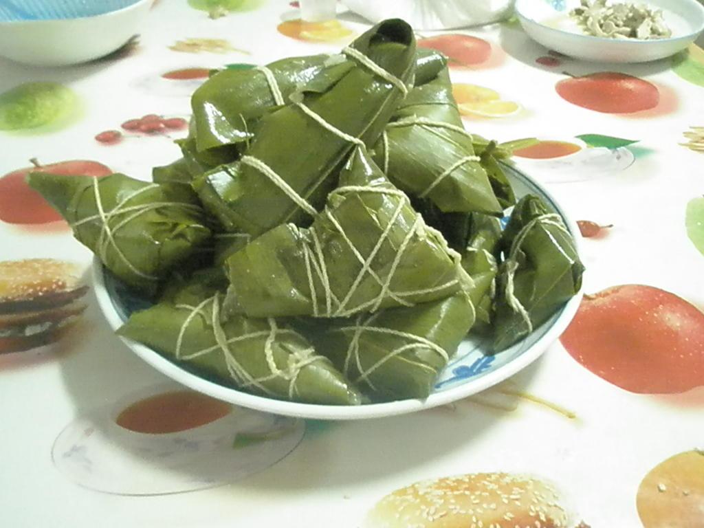 端午节快乐!请大家吃粽子喽!